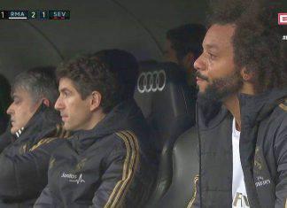 Real Madrid, il Bernabeu fischia Marcelo e lui scoppia in lacrime: tifosi divisi