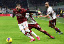 Coppa Italia, Milan-Torino: Calhanoglu e Ibra decisivi, in semifinale c'è la Juve