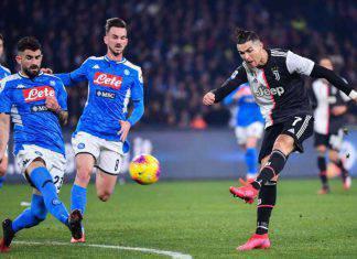Napoli-Juventus 2-1, Ronaldo non basta: Zielinski e Insigne rilanciano gli azzurri