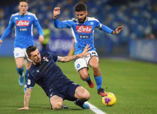 Coppa Italia, Napoli-Lazio 1-0: Insigne decisivo, biancocelesti sfortunati