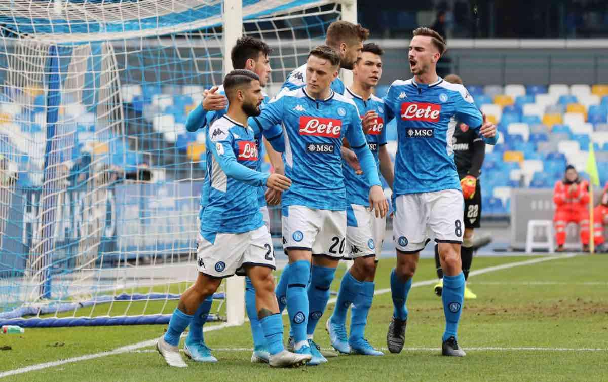 Napoli-Lazio streaming gratis e diretta tv, dove vedere il match