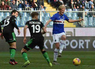Serie A, highlights Sampdoria-Sassuolo: gol e sintesi partita - VIDEO