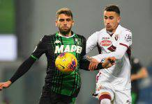 Serie A, Highlights Sassuolo-Torino: gol e sintesi del match - VIDEO