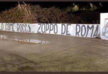Roma-Lazio, tensione derby: lo striscione a Zaniolo | FOTO