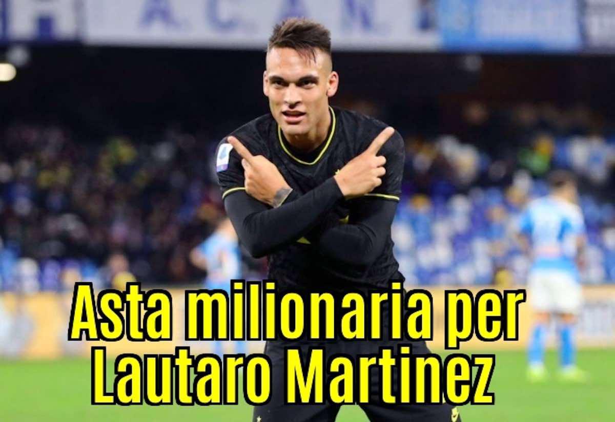 Calciomercato Inter, Lautaro Martinez: possibile asta milionaria. Gli scenari