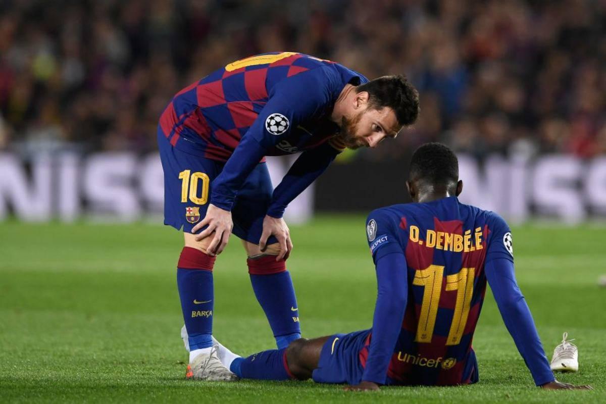 Barcellona, Dembele operato: stagione finita, salta l'Europeo