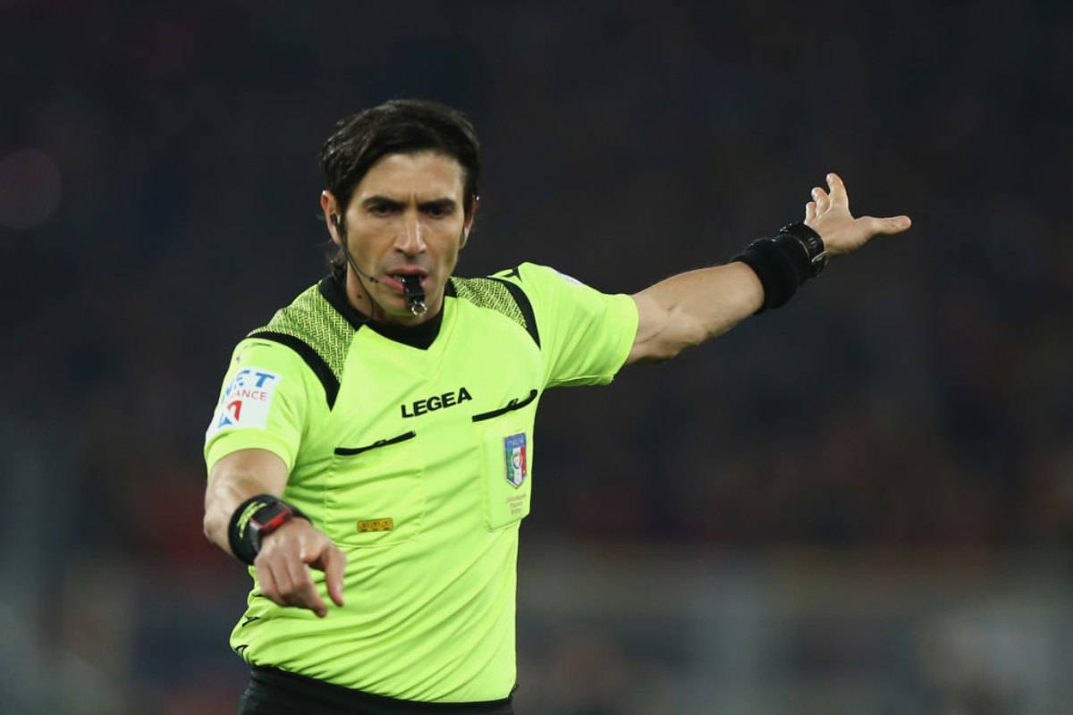 Serie A, arbitri 25.a giornata
