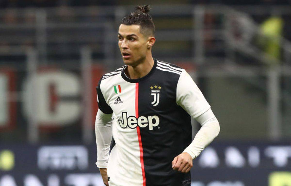 Cristiano Ronaldo Amuchina