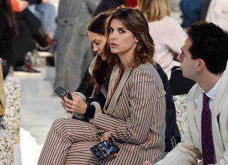 Elisabetta Canalis alla Milano Fashion Week
