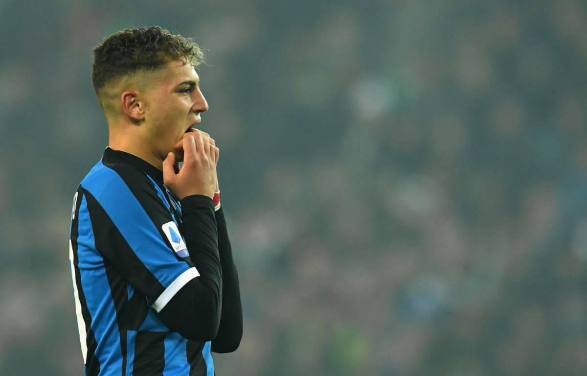 Inter, Esposito infortunato: ko in allenamento per l'attaccante