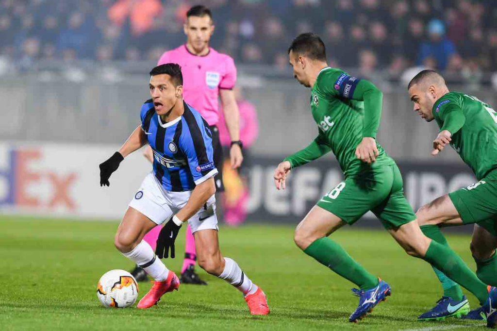 Europa League, highlights Ludogorets-Inter