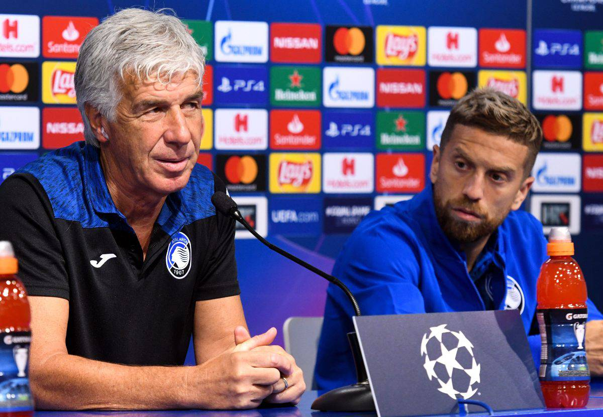 Gian Piero Gasperini Alejandro Gomez (Getty Images)