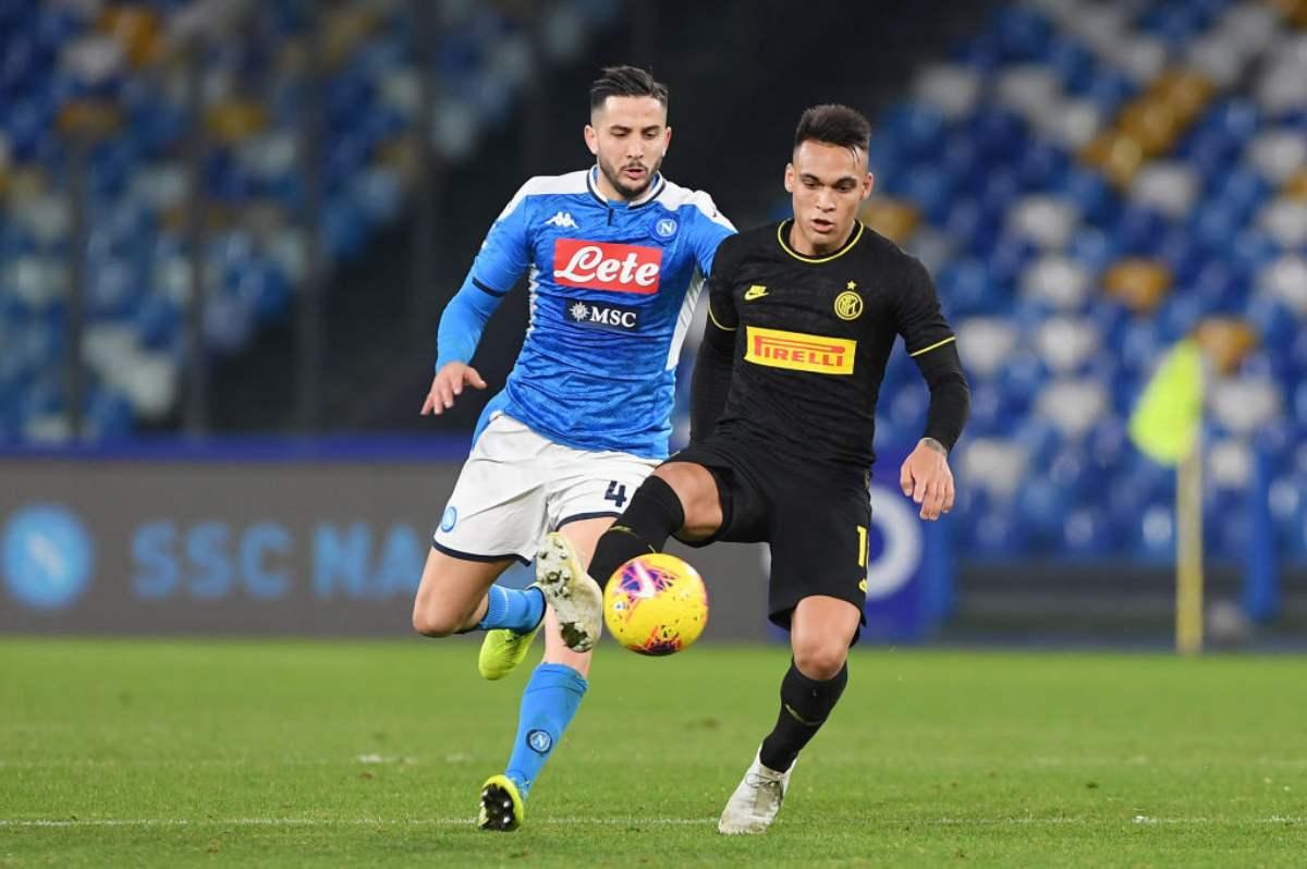 Inter-Napoli di Coppa Italia, vietato l'ingresso ai residenti in Campania