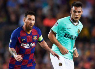Inter, Messi invita Lautaro Martinez al Barcellona