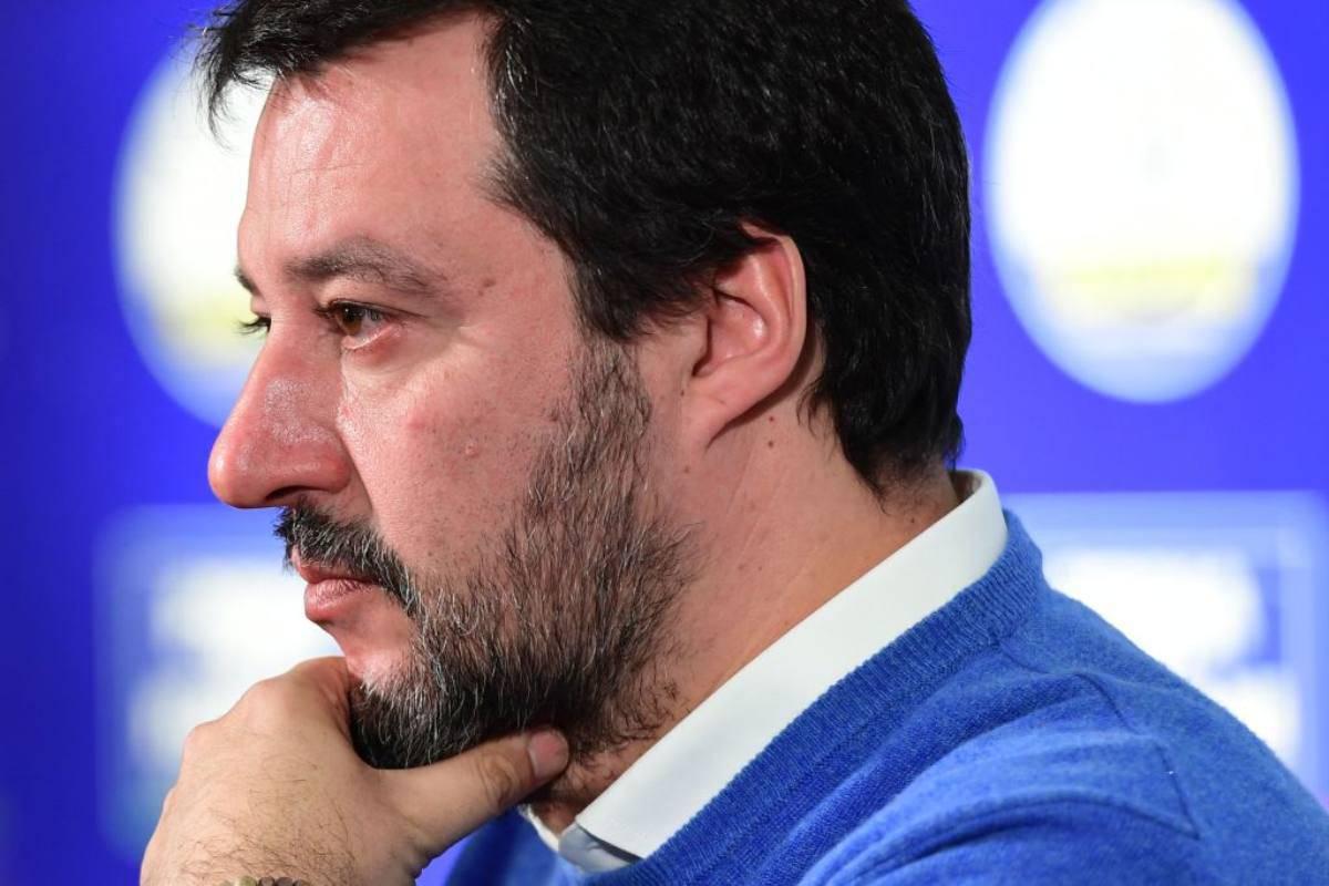 Salvini attacca Valeri per Milan-Juventus: la battuta dell'ex ministro