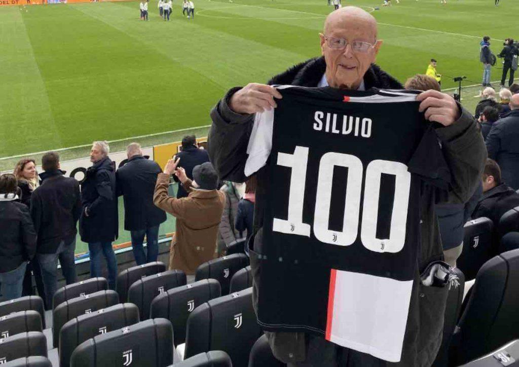 Silvio Fassone, cento anni con la Juve nel cuore