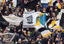 Udinese-Napoli, Daspo per 11 tifosi bianconeri