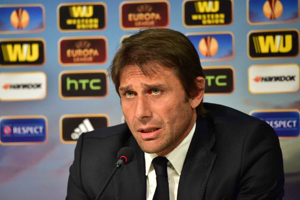 Il tecnico dell'Inter Antonio Conte