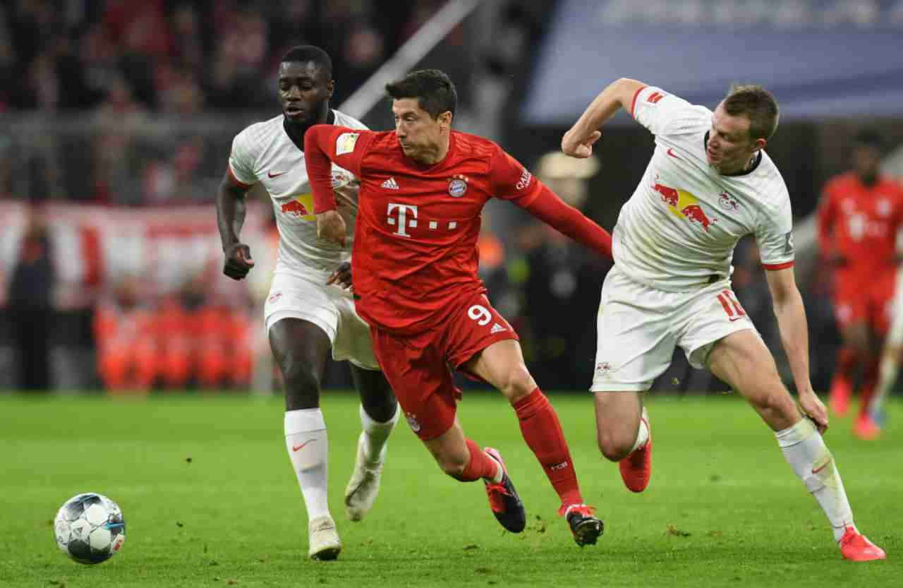 Bundesliga: il Bayern Monaco frena in casa contro il Lipsia