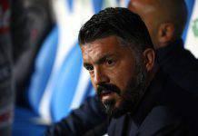 """Brescia-Napoli, Gattuso: """"Ci vuole il veleno. Europa League il nostro obiettivo"""""""