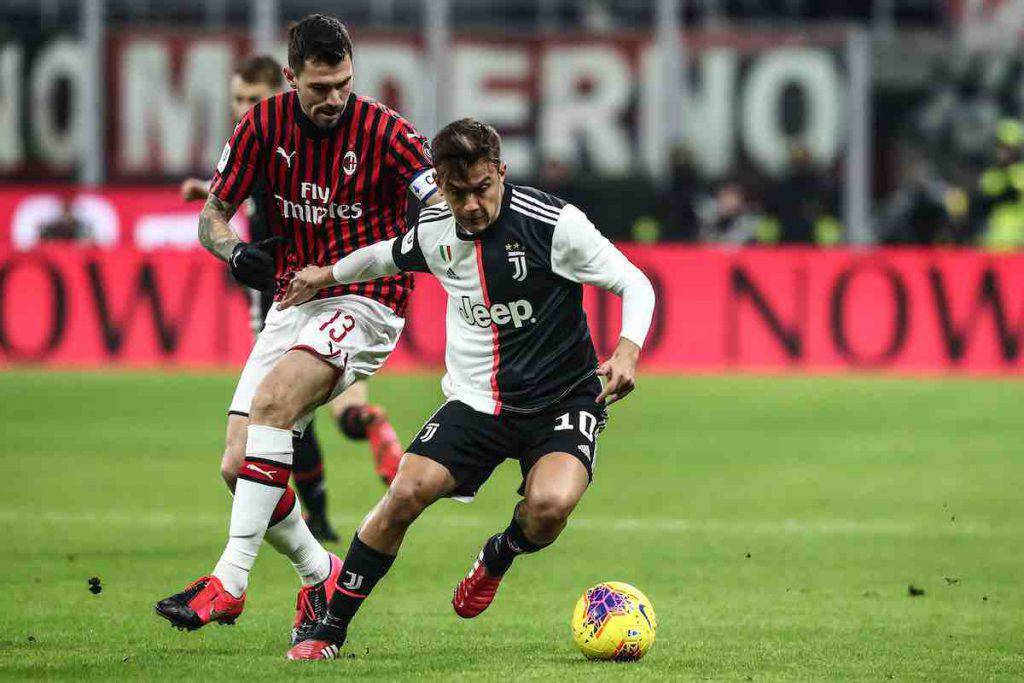 Coppa Italia, highlights Milan-Juventus