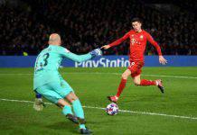 Bayern Monaco, infortunio Lewandowski: starà fuori un mese
