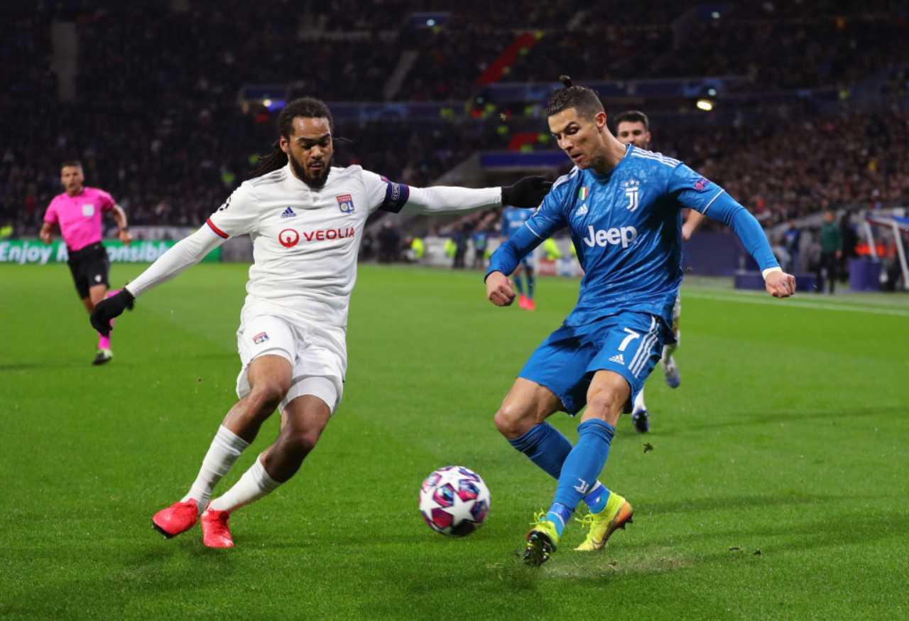 Lione-Juventus, Champions