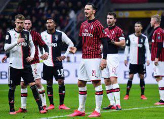 Coppa Italia, Milan-Juventus 1-1: Ronaldo salva i bianconeri in extremis