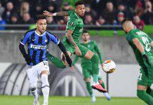Europa League, Ludogorets-Inter: Eriksen si sblocca, Lukaku raddoppia. Ottavi a un passo