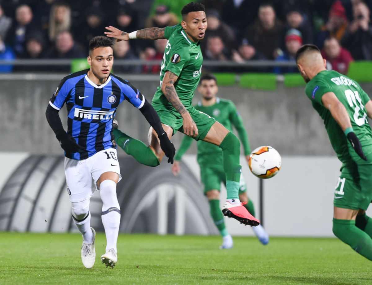LIVE Ludogorets-Inter, diretta risultato tempo reale