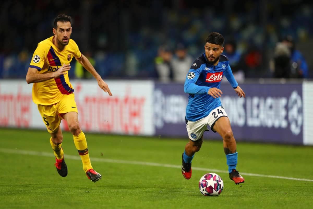 Napoli-Barcellona 1-1, Griezmann risponde a Mertens: si deciderà tutto al Camp Nou