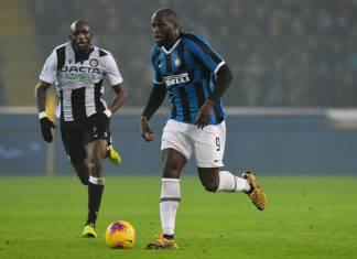 Udinese-Inter 0-2: Lukaku implacabile, doppietta e Juve a -3