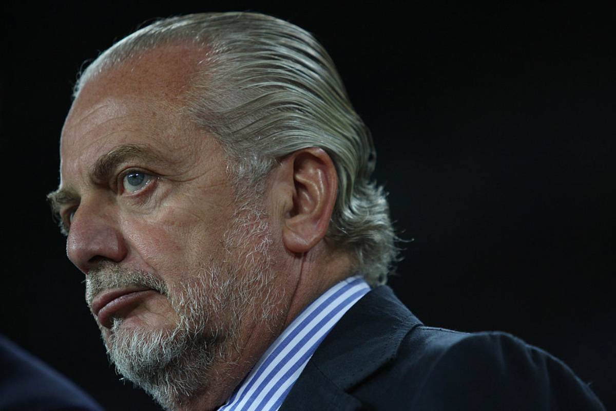 Aurelio De Laurentiis, non ha pagato lo stipendio ai giocatori del Napoli