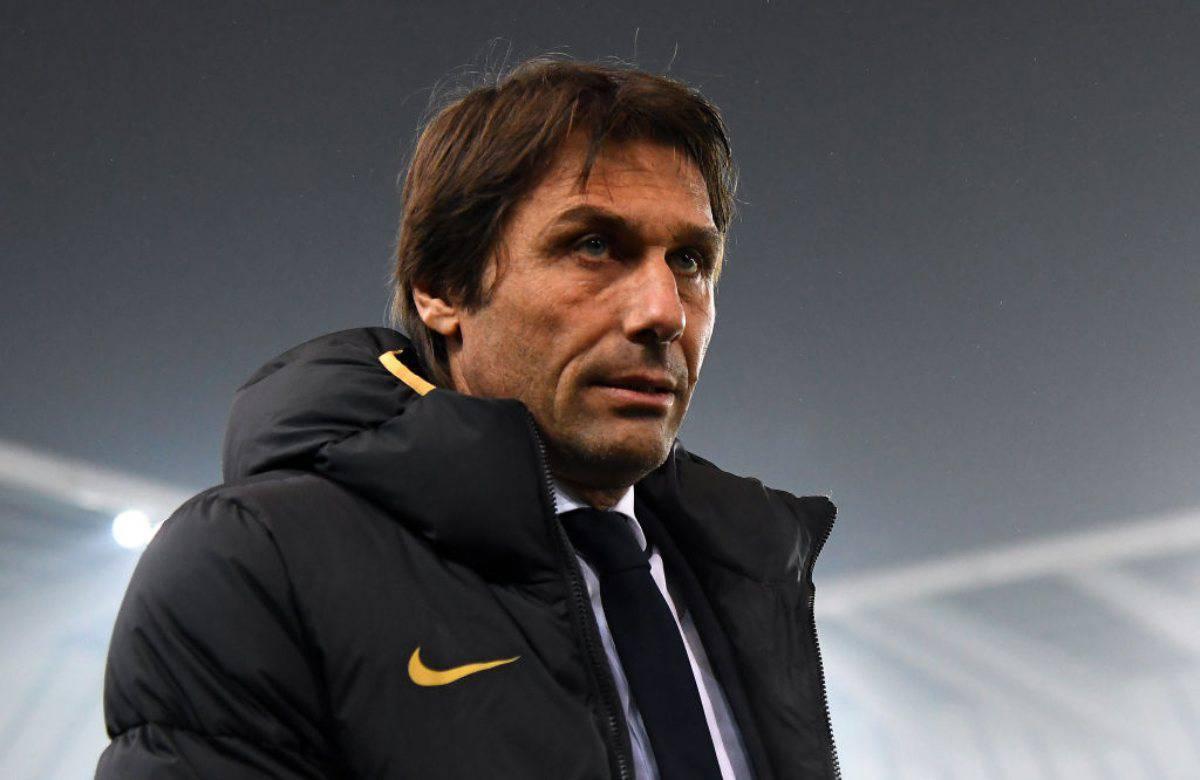 L'allenatore dell'Inter Antonio Conte
