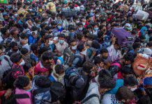 India, esodo dopo l'annuncio del lockdown