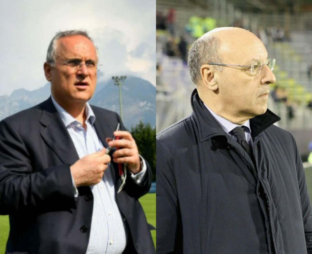 Lotito attacca Marotta sul ritorno della Serie A