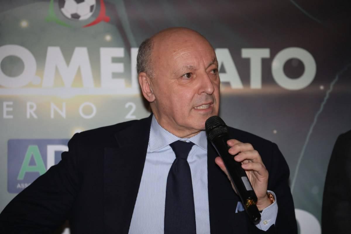 """Serie A, Marotta controcorrente: """"Non c'era tempo per sospendere. Sulle coppe europee.."""""""