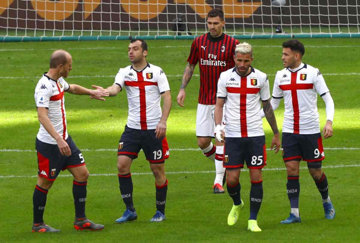 Milan-Genoa 1-2