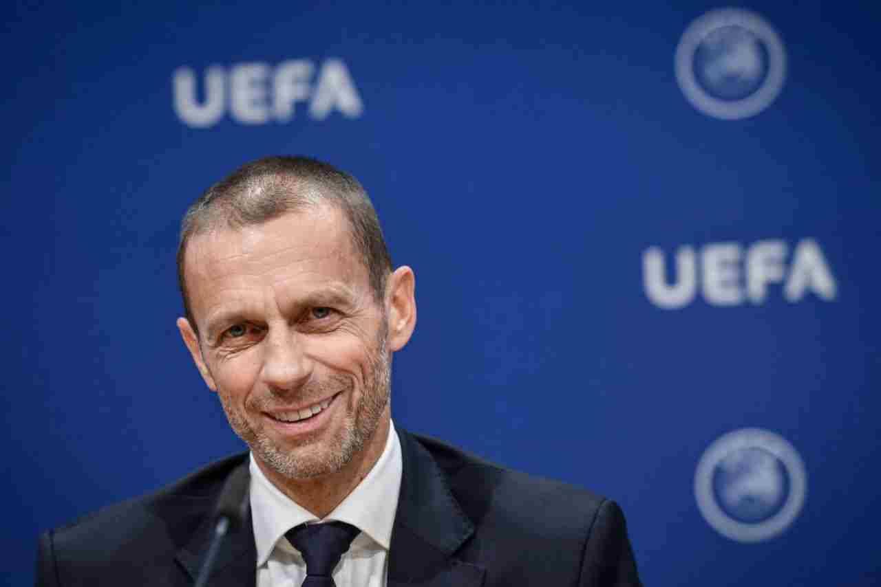 Aleksander Ceferin, presidente dell'Uefa duramente attaccata da Cellino