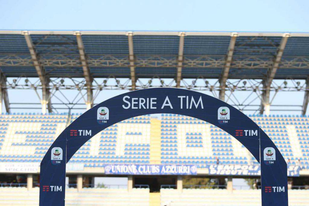 Tifosi allo stadio in Serie A, possibili test (Getty Images)