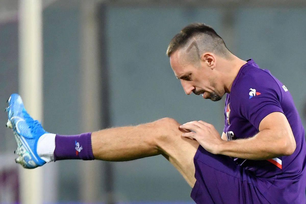 Fiorentina, Ribery torna ad allenarsi: il rientro è più vicino