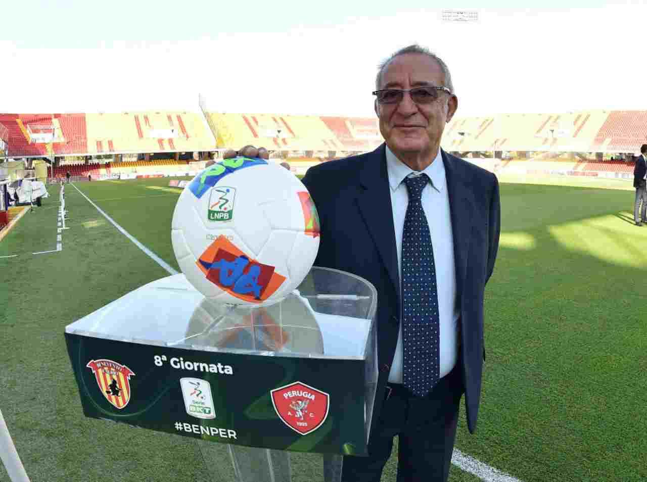 Benevento, il presidente Vigorito vuole un mercato stellare per la Serie A
