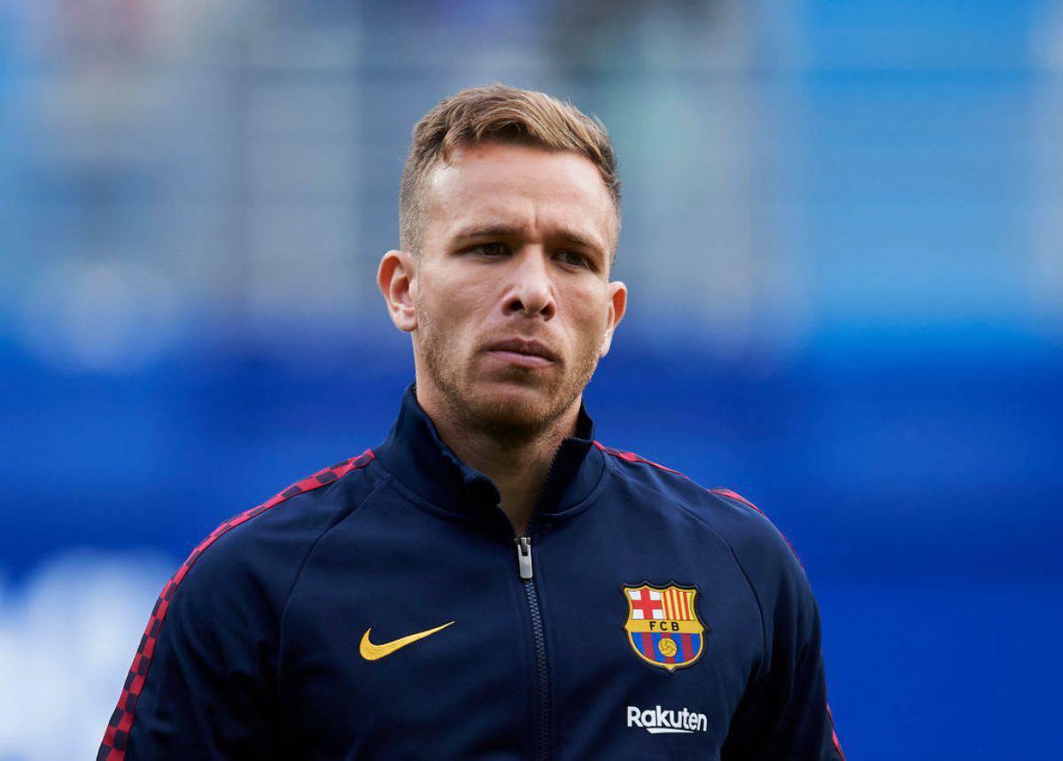Juventus nuovo assalto ad Arthur Melo del Barcellona (Getty Images)