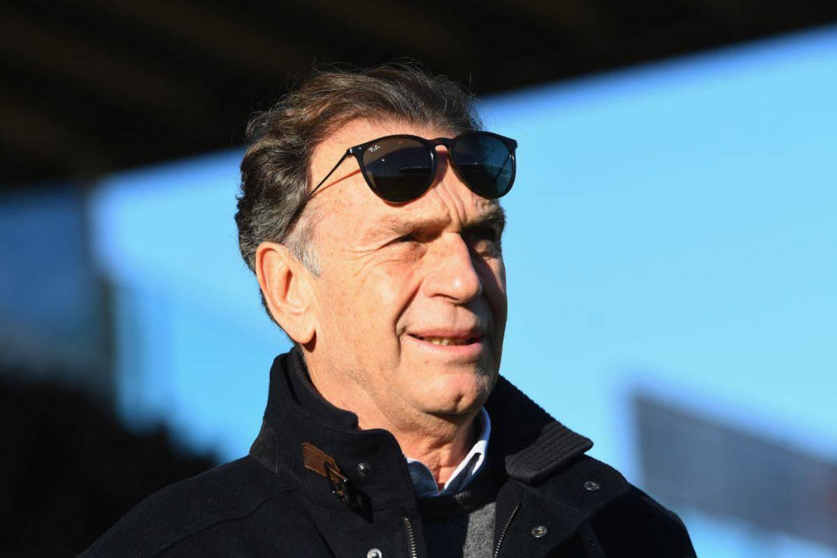 Cellino contrario alla ripartenza della Serie A