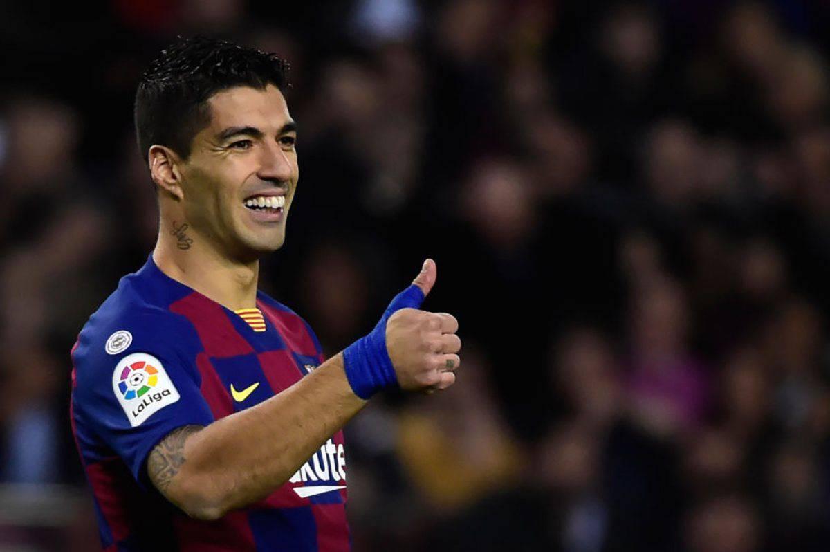 Luis Suarez decisivo per l'arrivo di Lautaro (Getty Images)