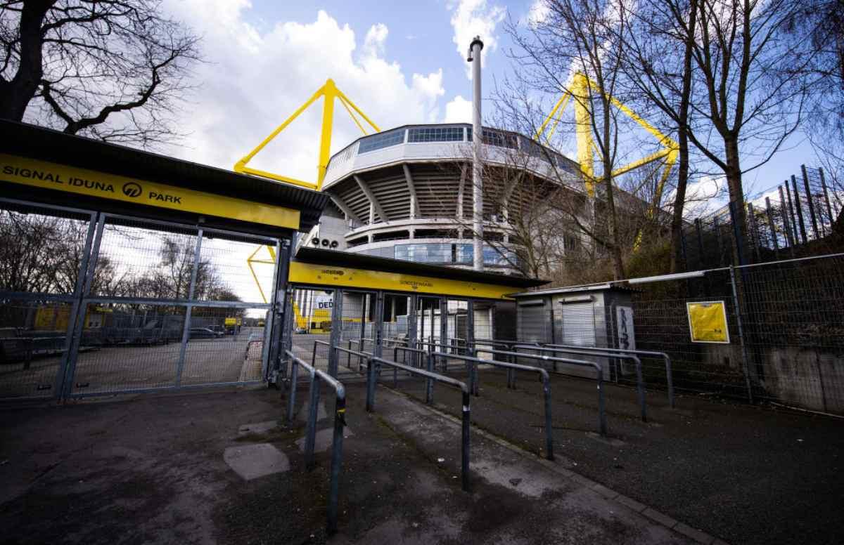 Borussia Dortmund, lo stadio diventa un centro d'accoglienza per il Coronavirus