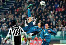 Cristiano Ronaldo, due anni fa il gol in rovesciata alla Juve: il video della prodezza