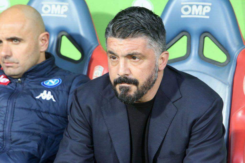 Gattuso, le sue parole nel post partita contro la Spal (Getty Images)
