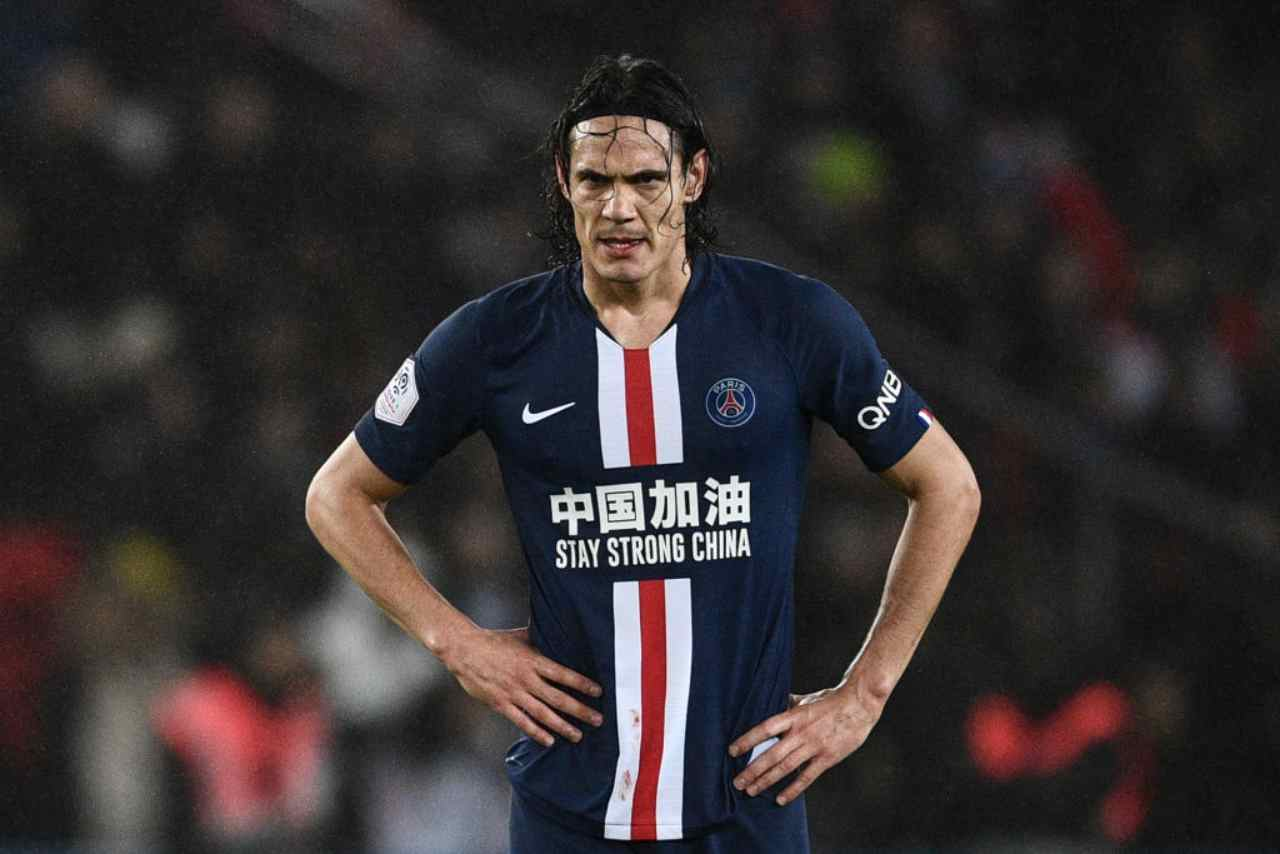 Cavani, tentativo della Roma (Getty Images)