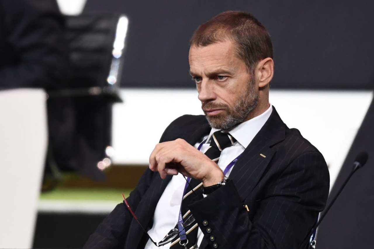 Ceferin, chiarimenti sulla chiusura dei campionati (Getty Images)